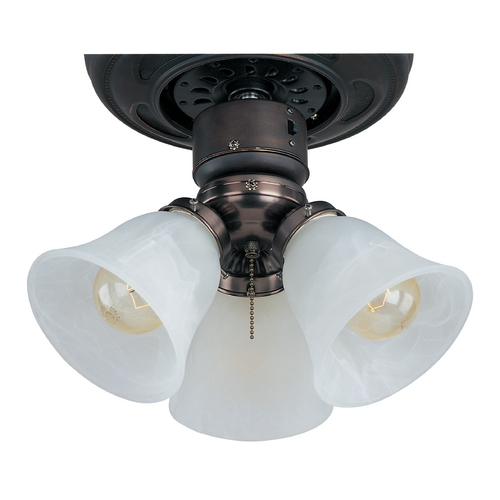 Maxim Lighting Light Kit with White in Oil Rubbed Bronze Finish FKT207OI