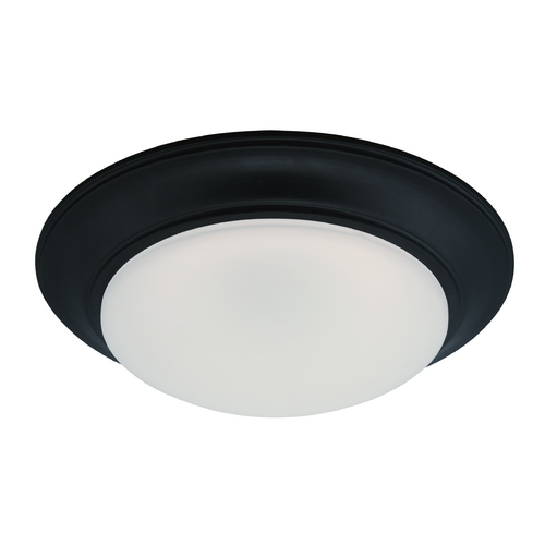 Designers Fountain Lighting LED Flushmount Light with White Glass in Oil Rubbed Bronze Finish LED202-ORB-FR