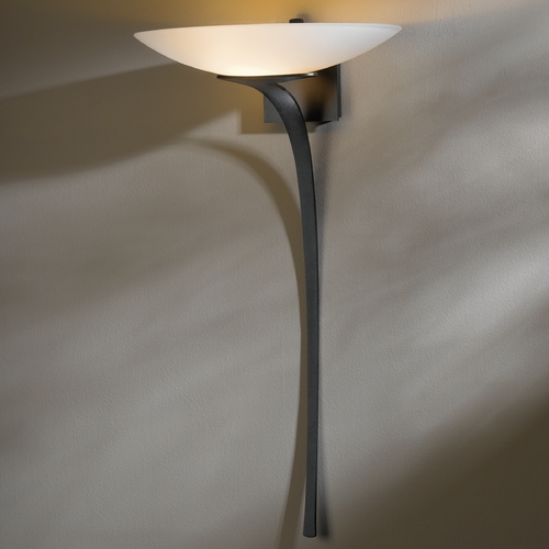 Hubbardton Forge Lighting Hubbardton Forge Lighting Antasia Dark Smoke Sconce 204720-07-G90