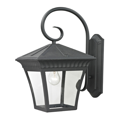 Cornerstone Lighting Cornerstone Lighting Ridgewood Matte Textured Black Outdoor Wall Light 8421EW/65