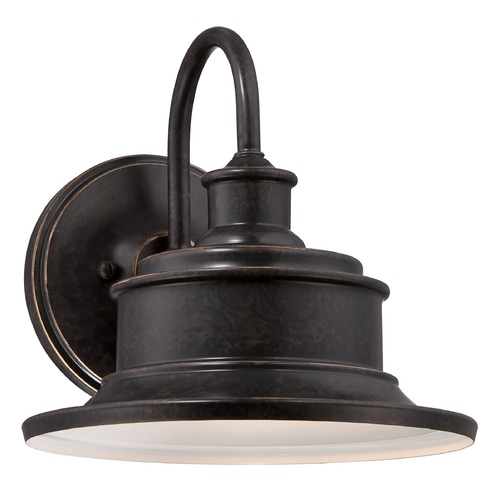 Quoizel Lighting Quoizel Seaford Imperial Bronze Outdoor Wall Light SFD8411IBFL