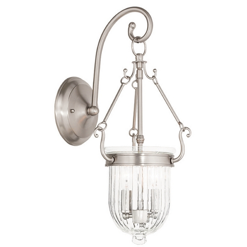 Livex Lighting Livex Lighting Coventry Brushed Nickel Sconce 50511-91