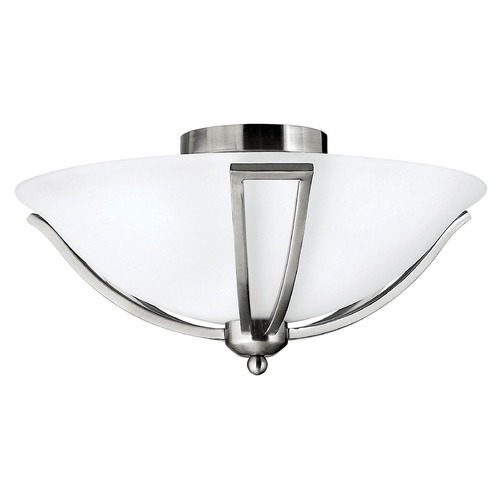 Hinkley Lighting Hinkley Lighting Bolla Brushed Nickel Flushmount Light 4660BN-GU24