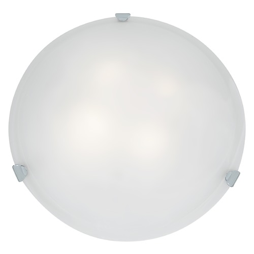 Access Lighting Access Lighting Mona Chrome LED Flushmount Light 23021LEDD-CH/WH