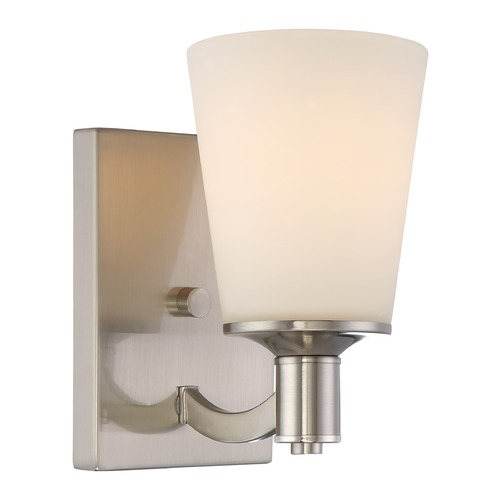 Nuvo Lighting Nuvo Lighting Laguna Brushed Nickel Sconce 60/5821