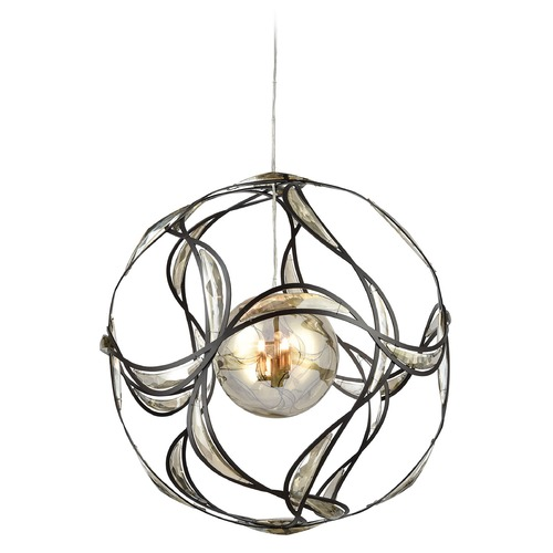 Elk Lighting Elk Lighting Oriona Oil Rubbed Bronze Pendant Light with Globe Shade 11866/3