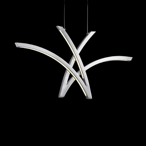 Elan Lighting Elan Lighting Zara Chrome LED Pendant Light 83517