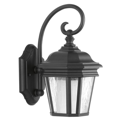 Progress Lighting Progress Lighting Crawford CFL Black Outdoor Wall Light P6630-31