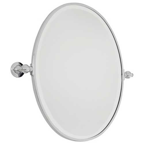 Minka Lighting Oval 19-1/2-Inch Mirror 1431-77