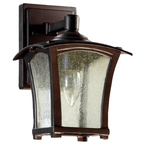 Quorum Lighting Quorum Lighting Gable Oiled Bronze Outdoor Wall Light 7510-6-86