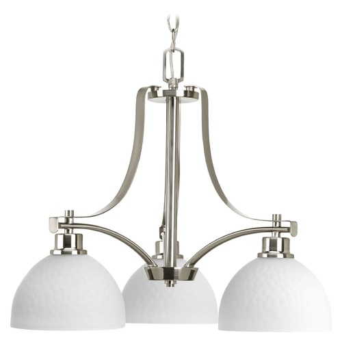 Progress Lighting Progress Lighting Legend Brushed Nickel Chandelier P4270-09