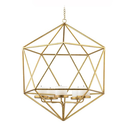 Sterling Lighting Angular Study Pillar Light Pendant 51-018