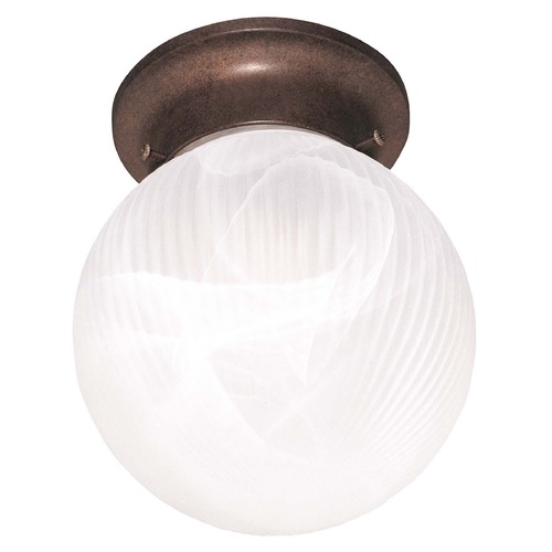 Savoy House Savoy House Brownstone Flushmount Light 266-BN