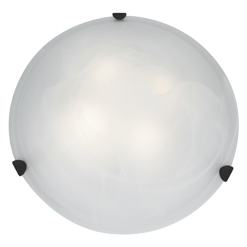 Access Lighting Access Lighting Mona Rust LED Flushmount Light 23021LEDD-RU/ALB