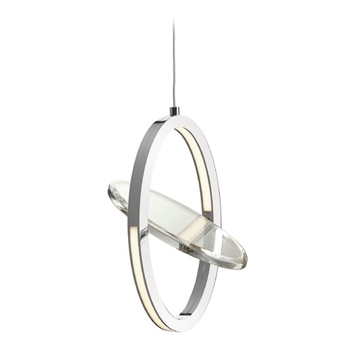 Elan Lighting Elan Lighting Oliv Chrome LED Mini-Pendant Light 83572