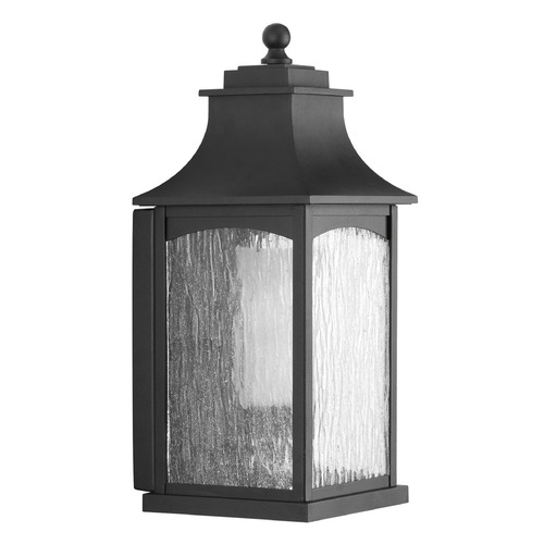 Progress Lighting Progress Lighting Maison CFL Black Outdoor Wall Light P6635-31