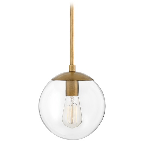 Hinkley Hinkley Warby 1-Light Heritage Brass Pendant Light 3747HB