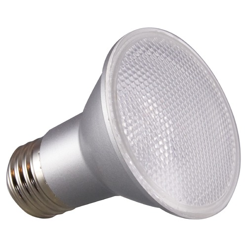 Satco Lighting Satco 6.5 Watt PAR20 LED 4000K 520 Lumens 25 deg. Beam Medium Base 120 Volt Dimmable S29403