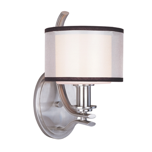 Maxim Lighting Maxim Lighting Orion Satin Nickel Sconce 23038SWSN