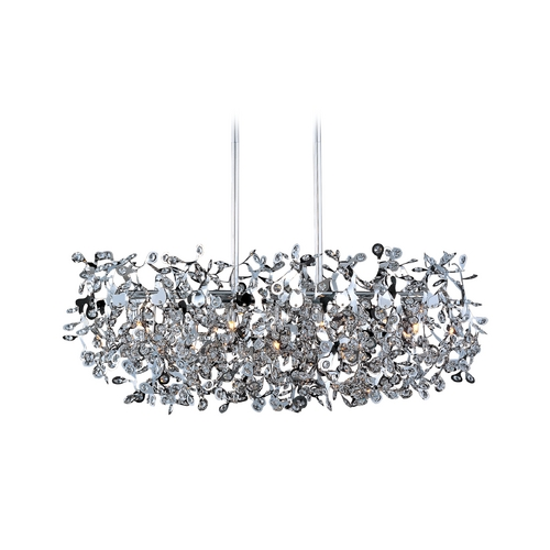 Maxim Lighting Modern Pendant Light in Polished Chrome Finish 24206BCPC