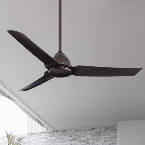 Minka Aire 54-Inch Modern Ceiling Fan Without Light in Kocoa Finish F753-KA