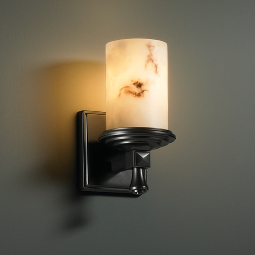 Justice Design Group Justice Design Group Lumenaria Collection Sconce FAL-8531-10-MBLK