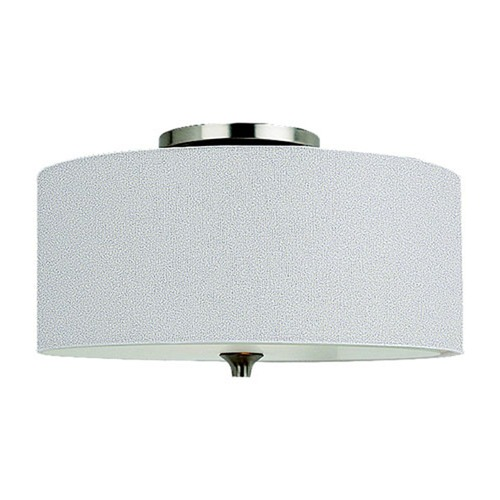 Sea Gull Lighting Sea Gull Lighting Stirling Brushed Nickel Flushmount Light 75952BLE-962