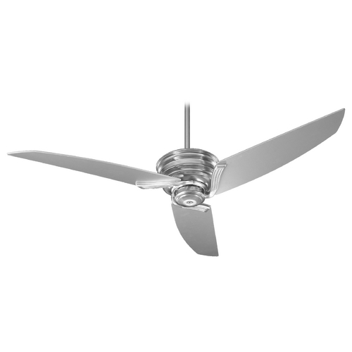 Quorum Lighting Quorum Lighting Nova Satin Nickel Ceiling Fan Without Light 24563-65