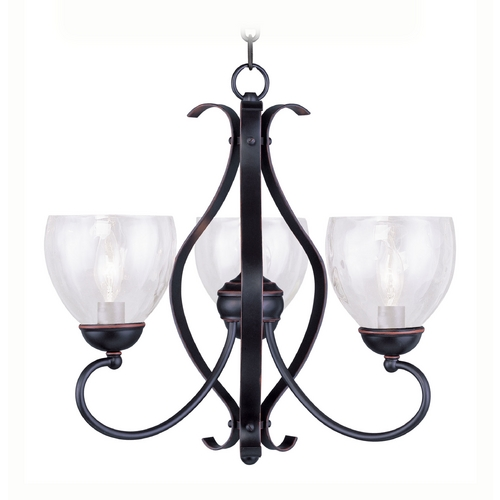 Livex Lighting Livex Lighting Brookside Olde Bronze Mini-Chandelier 4807-67