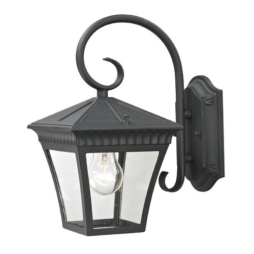 Cornerstone Lighting Cornerstone Lighting Ridgewood Matte Textured Black Outdoor Wall Light 8401EW/65