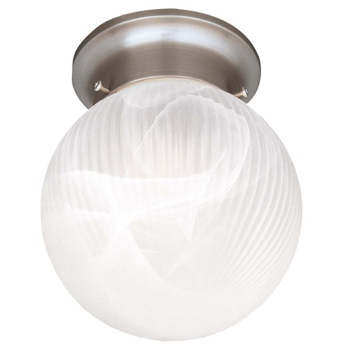 Savoy House Savoy House Satin Nickel Flushmount Light 266-SN