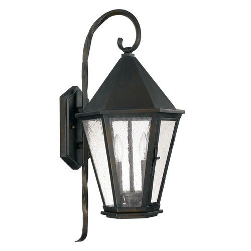 Capital Lighting Capital Lighting Spencer Old Bronze Outdoor Wall Light 9622OB