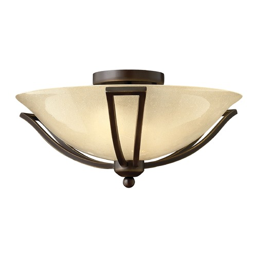 Hinkley Lighting Hinkley Lighting Bolla Olde Bronze Flushmount Light 4660OB-GU24