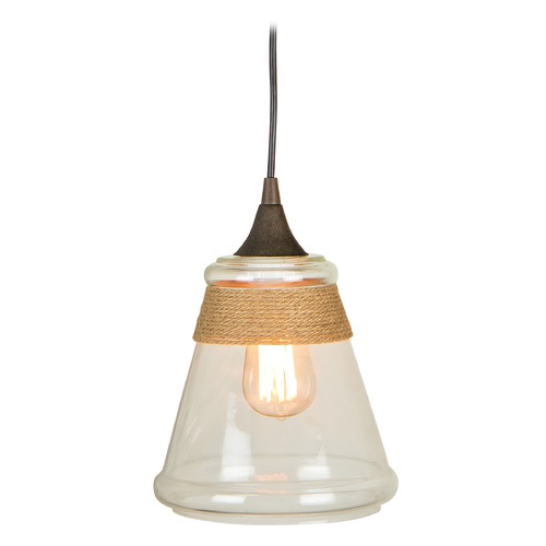Jeremiah Lighting Jeremiah Lighting Aged Bronze Mini-Pendant Light KPM550-JBZ