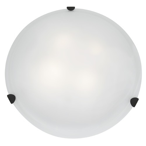 Access Lighting Access Lighting Mona Rust LED Flushmount Light 23021LEDD-RU/WH
