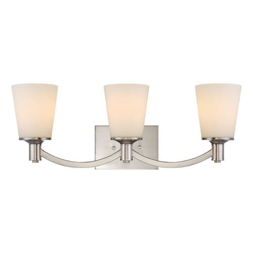 Nuvo Lighting Nuvo Lighting Laguna Brushed Nickel Bathroom Light 60/5823