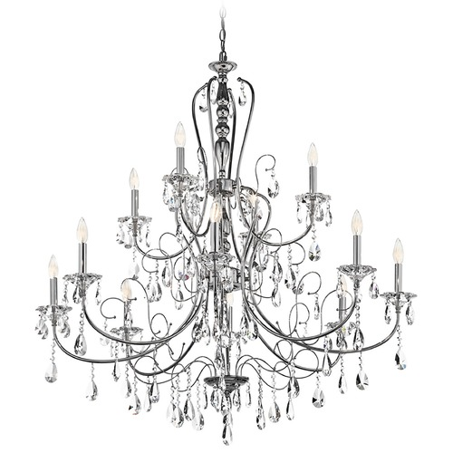 Kichler Lighting Kichler Crystal Chandelier in Chrome Finish 43124CH