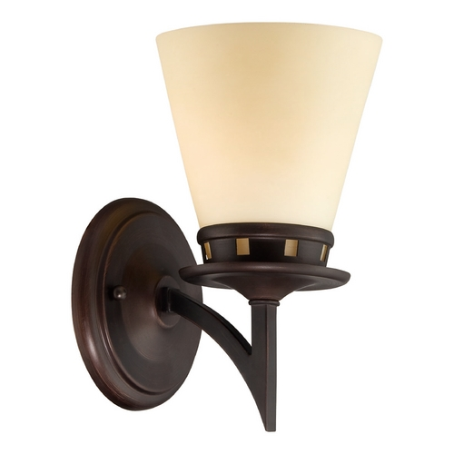 Lite Source Lighting Lite Source Lighting Erina Aged Bronze Sconce LS-16451