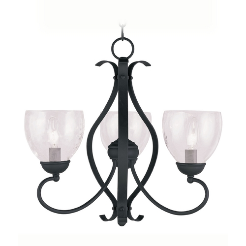 Livex Lighting Livex Lighting Brookside Black Mini-Chandelier 4807-04