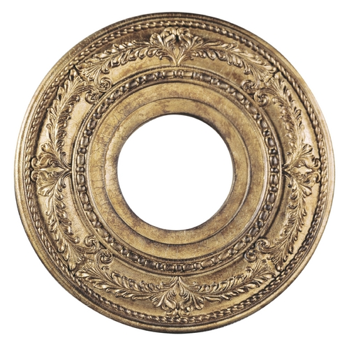 Livex Lighting Livex Lighting Vintage Gold Leaf Ceiling Medallion 8204-65
