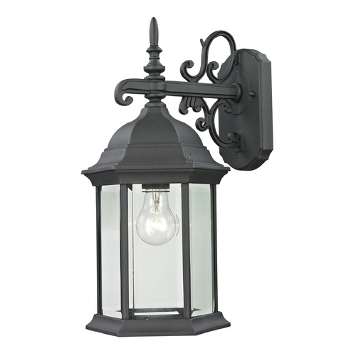 Cornerstone Lighting Cornerstone Lighting Ashford Black Outdoor Wall Light 8601EW/60