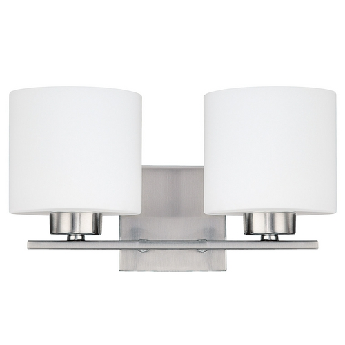 Capital Lighting Capital Lighting Brushed Nickel Bathroom Light 8492BN-103