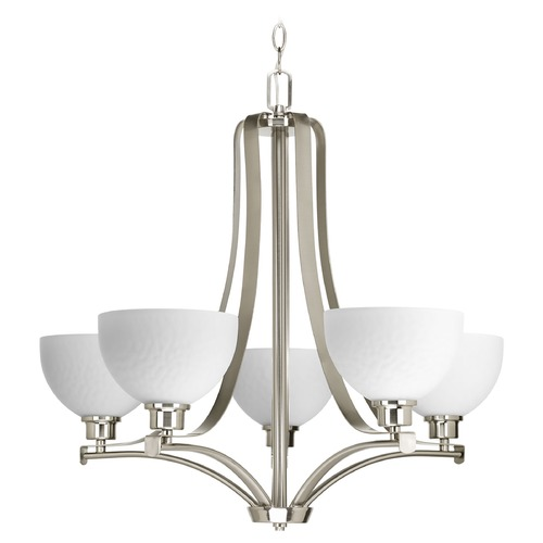 Progress Lighting Progress Lighting Legend Brushed Nickel Chandelier P4271-09
