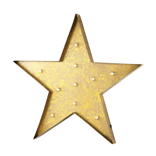 Sterling Lighting Star Marquee Sign 51-034