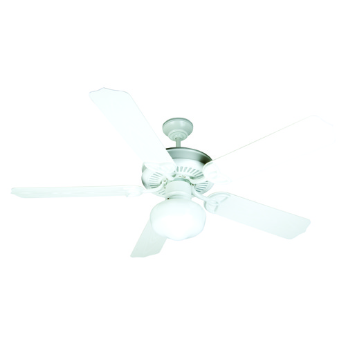 Craftmade Lighting Craftmade Lighting Outdoor Patio Fan White Ceiling Fan with Light K10529