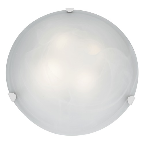 Access Lighting Access Lighting Mona White LED Flushmount Light 23021LEDD-WH/ALB