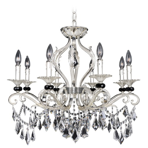 Allegri Lighting Donizetti 8 Light Crystal Pendant / Flushmount 025140-017-FR001