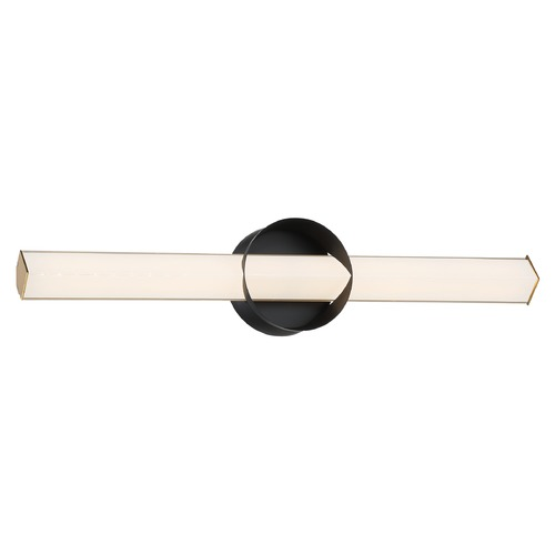 George Kovacs Lighting George Kovacs Inner Circle Coal and Honey Gold LED Sconce P1543-688-L