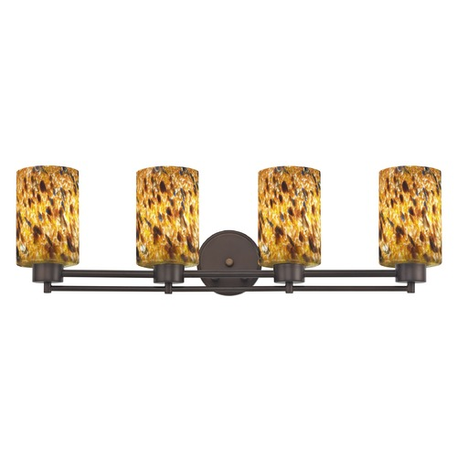 Design Classics Lighting Design Classics Salida Fuse Neuvelle Bronze Bathroom Light 704-220 GL1005C