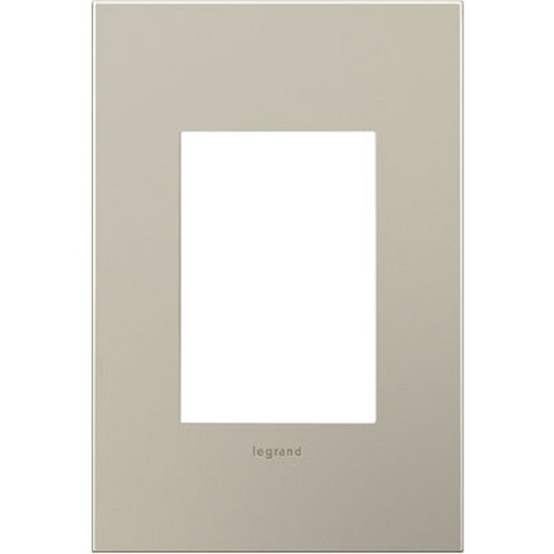 Legrand Adorne Legrand Adorne Satin Nickel 1-Gang 3-Module Switch Plate AWC1G3SN4
